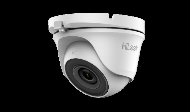 Caméra 2Mp HD Dôme Hilook 2,8mm,IR20m Métal