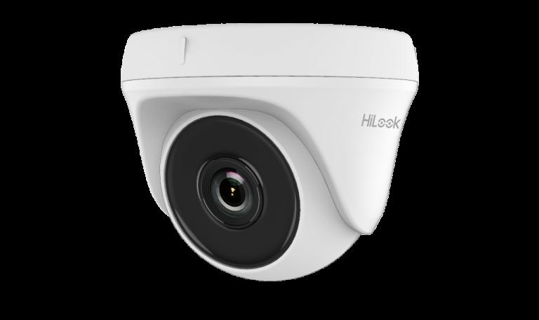 Caméra 2Mp HD Dôme Hilook 2,8mm,IR20m Plastic