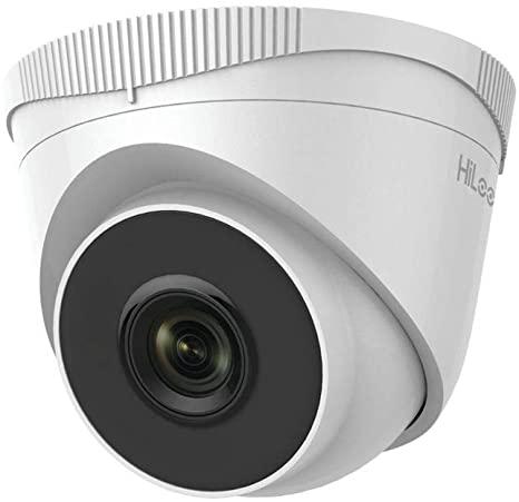 Caméra 2Mp IP Dôme Hilook 2,8mm,IR30m,H265,PoE,IP67,Métal+Plastic