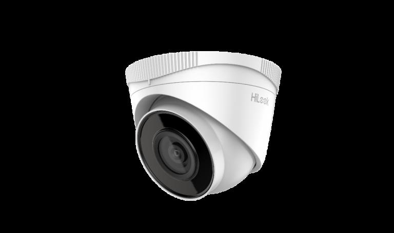 Caméra 4Mp IP Dôme Hilook 2,8mm,IR30m,H265,PoE,P67,Métal+Plastic