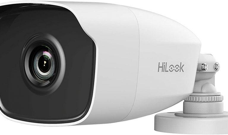 Caméra 4Mp HD Tube Hilook 2,8mm,IR40m Métal