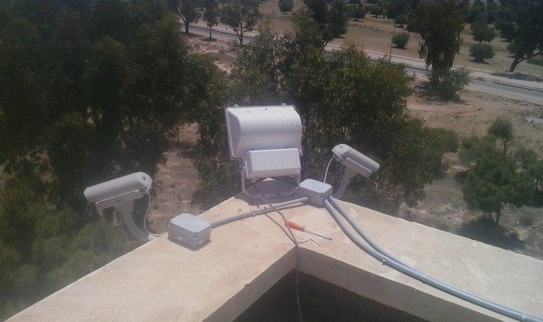 Hôtel Caméras de surveillance
