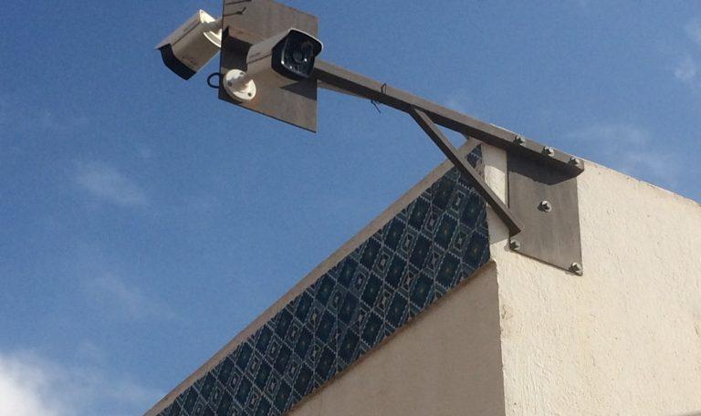 Caméras extérieures sur support