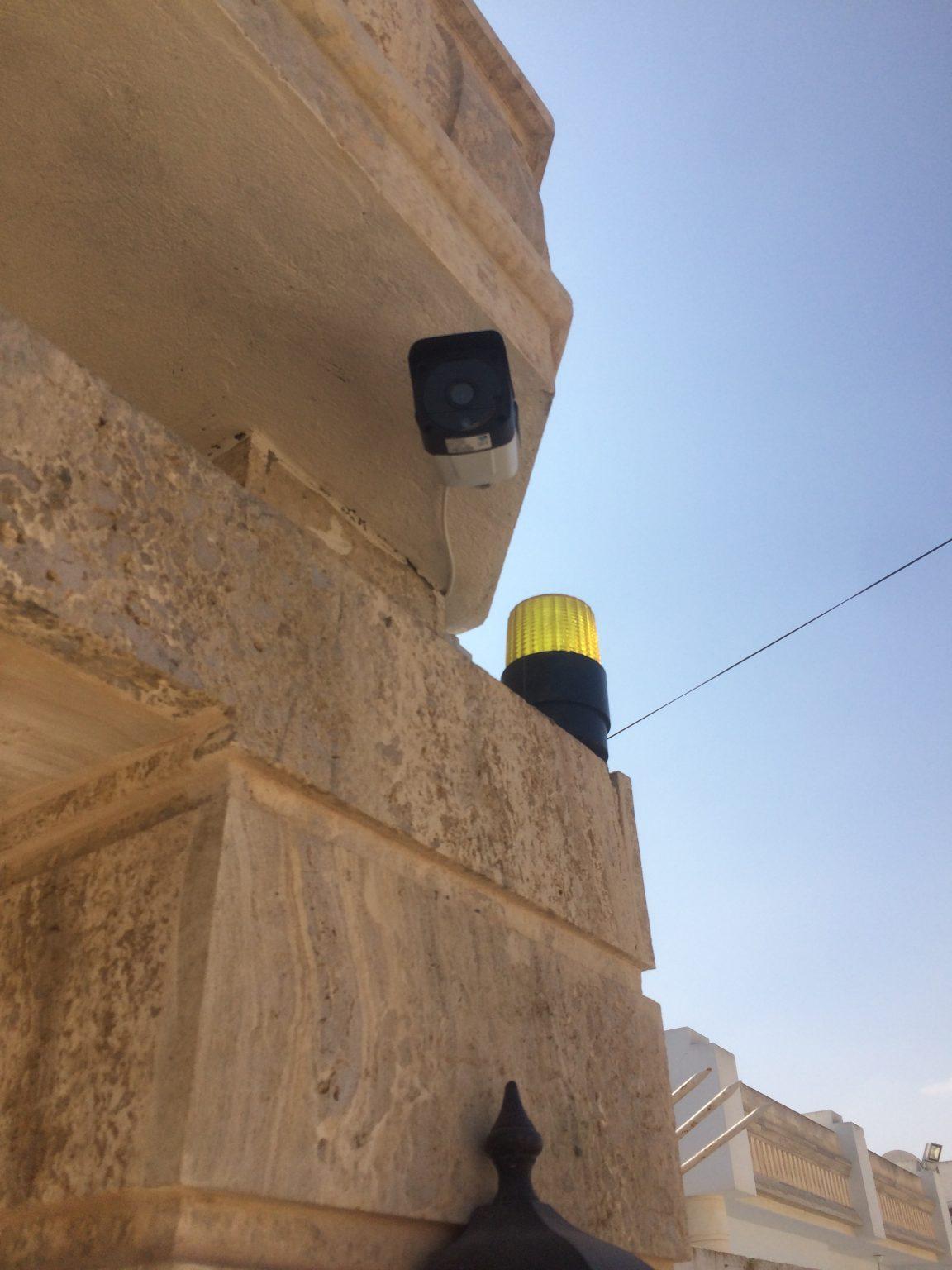 Caméra de rue pour villa