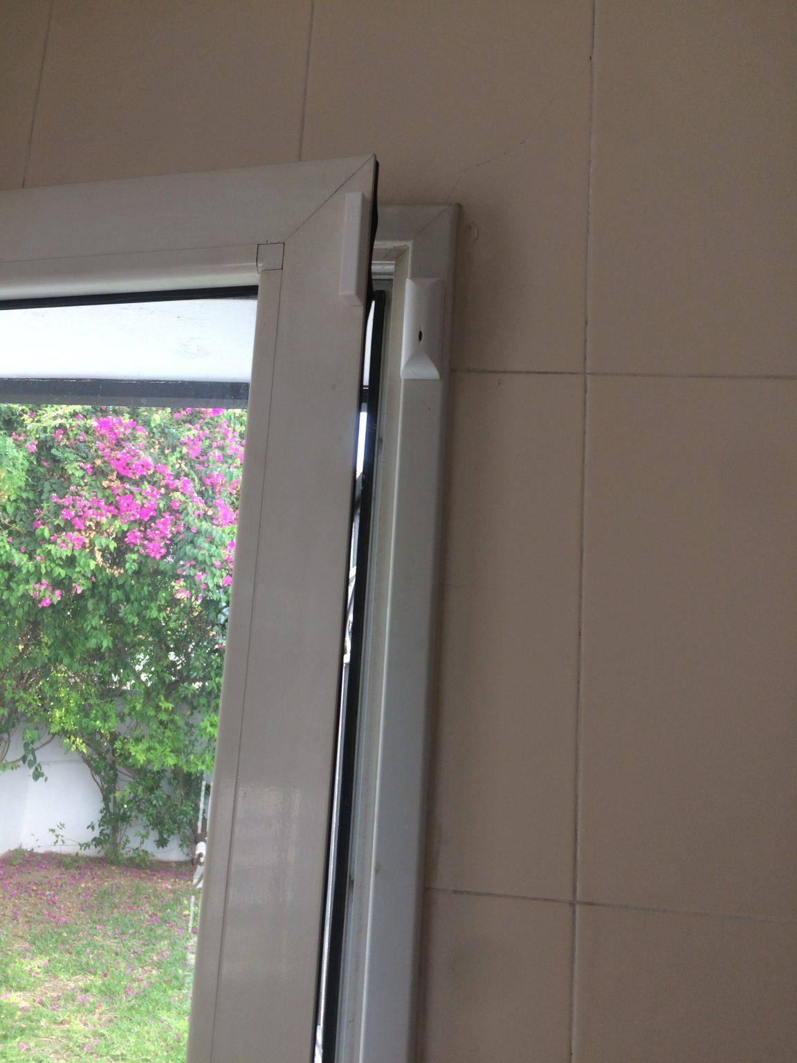 contact sans fil pour porte en aluminuim