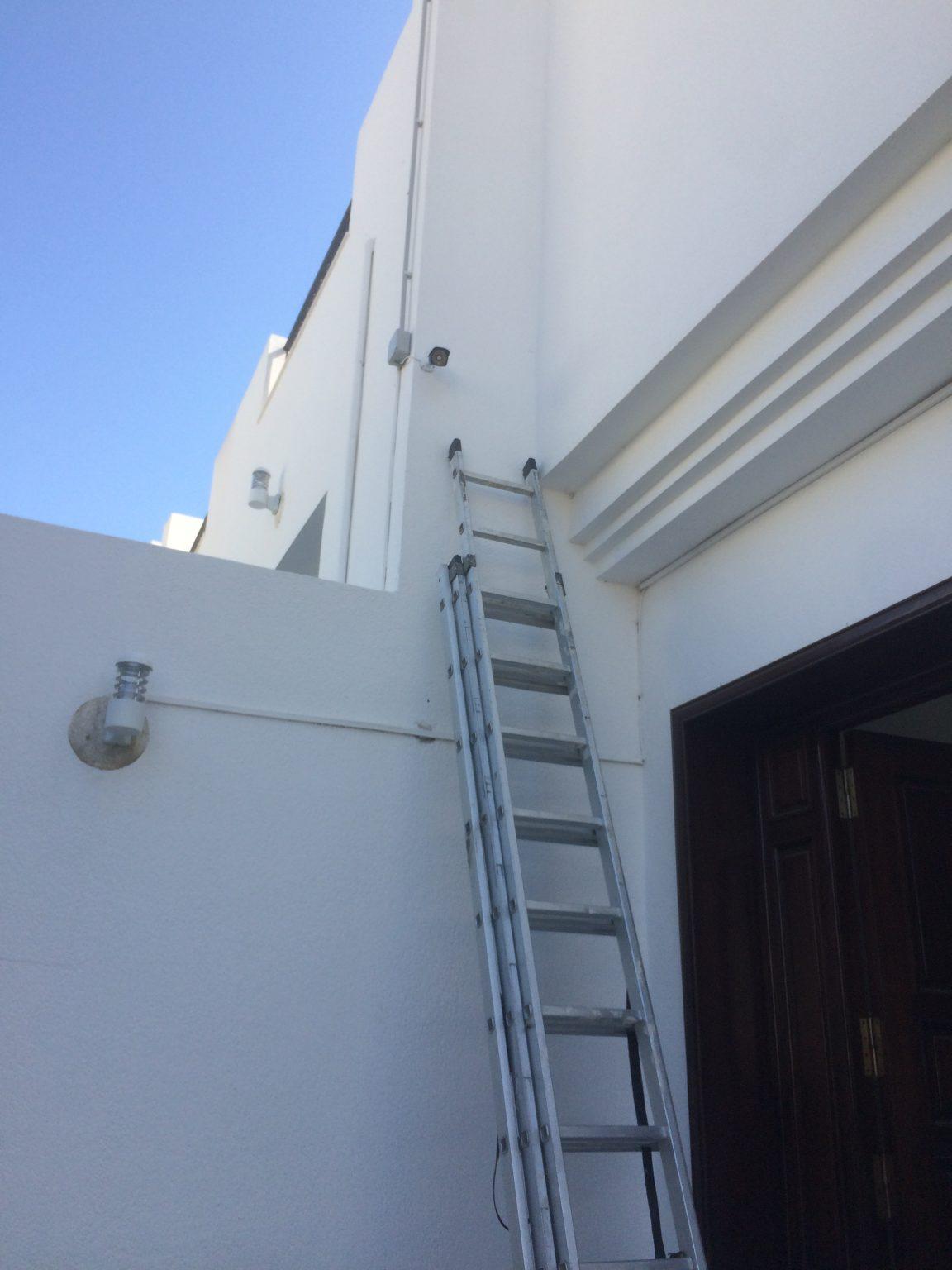 Caméra extérieure entrée vilaa