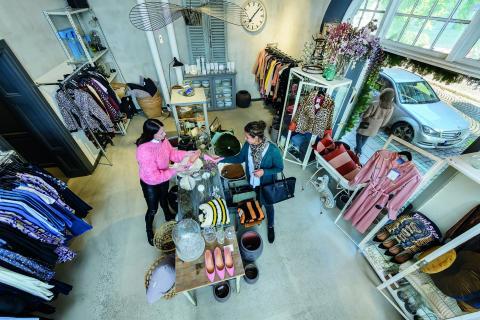 Boutique-vêtements