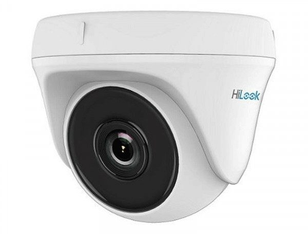 Caméra 4Mp HD Dôme Hilook 2,8mm,IR20m Plastic