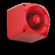 Sirènes haute puissance Signal acoustique fonctionnant de 10 à 60 Vdc, degré de protection IP66, complet avec socle de montage.